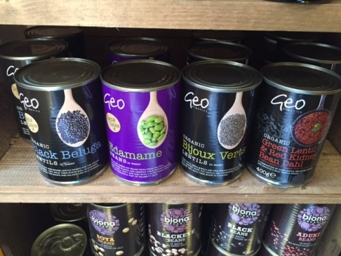 New Selection of tinned organic pulses